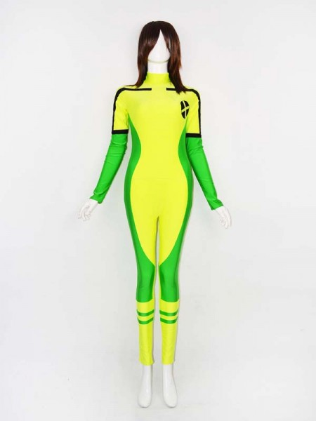 Último Traje de Spandex de Rogue de X-men ¡Muy Popular!