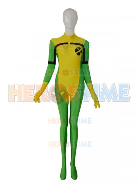 2014 X-men Rogue Female Superhero Costume