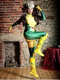 Rogue Costume X-Men Rogue No Boots Costume