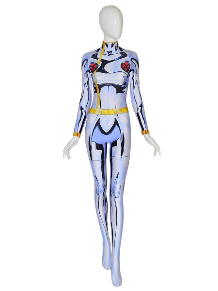 White Storm Costume X-men Cosplay Costume Woman Superhero Suit