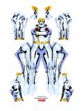 White Storm Costume X-men Cosplay Costume Woman Superhero Suit