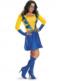 Classic Wild Thing Spandex Superhero Dress