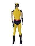Traje de Wolverine en color Azul Marino y Amarillo