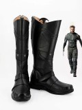 X-men Wolverine Black Mens Superhero Cosplay Boots