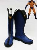 Botas Azules de Wolverine de X-Men  Botas de Cosplay