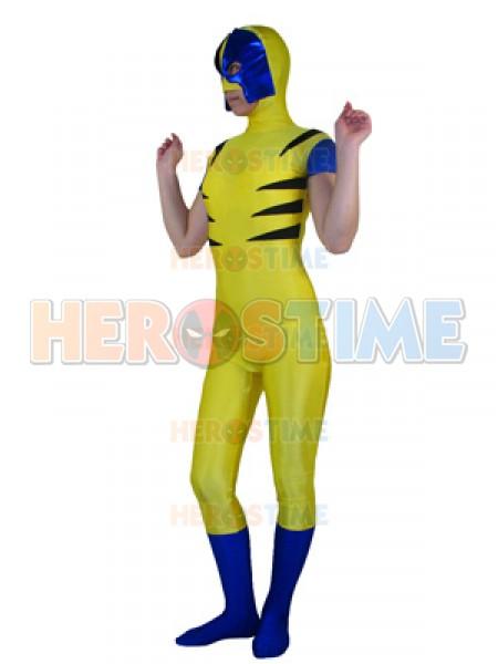 Traje de Spandex de Wolverine de X-men