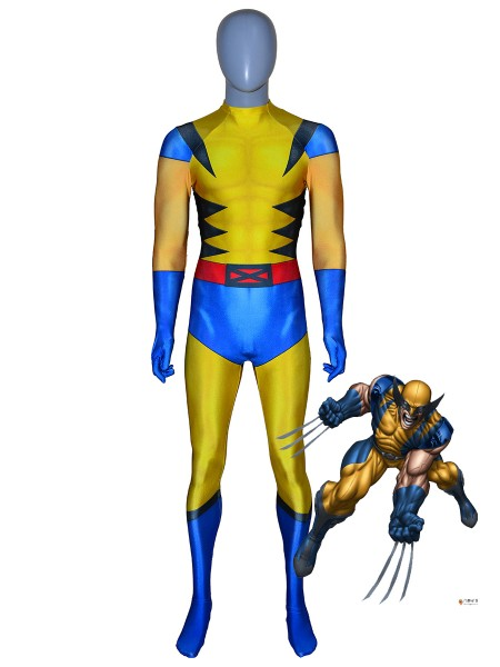 Wolverine Costume Marvel Future Fight X-men Superhero Costume