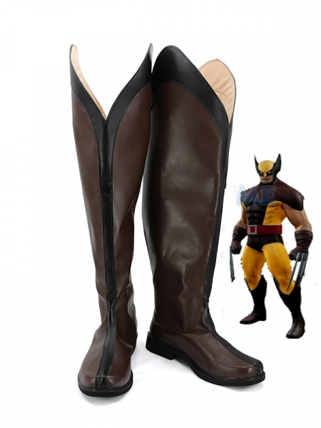 Wolverine Cosplay Zapatos X-men Cosplay Botas