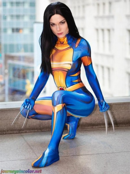 X-23 Laura Kinney X-men Female Superhero Costume