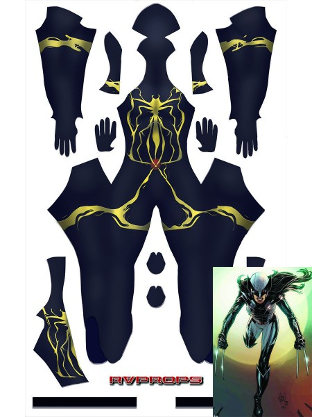 Venom X-23 Costume X-men Adults Kids Cosplay Haloween Costume