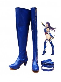 X-Men Marvel Psylocke Cosplay Boots