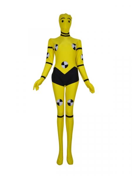 Yellow X-men Custom Superhero Animal Costume