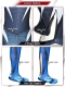 The Amazing SpiderMan 2 Black Costume Black Spider-Man Morph Fullbody Suit