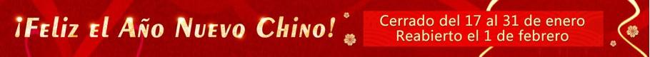 Aviso de vacaciones de año nuevo chino
