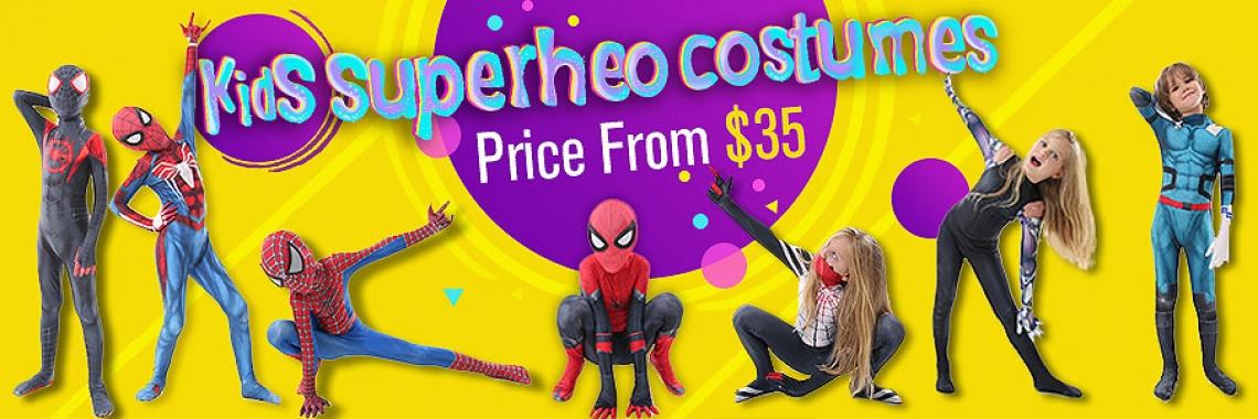 Kids Superhero costumes