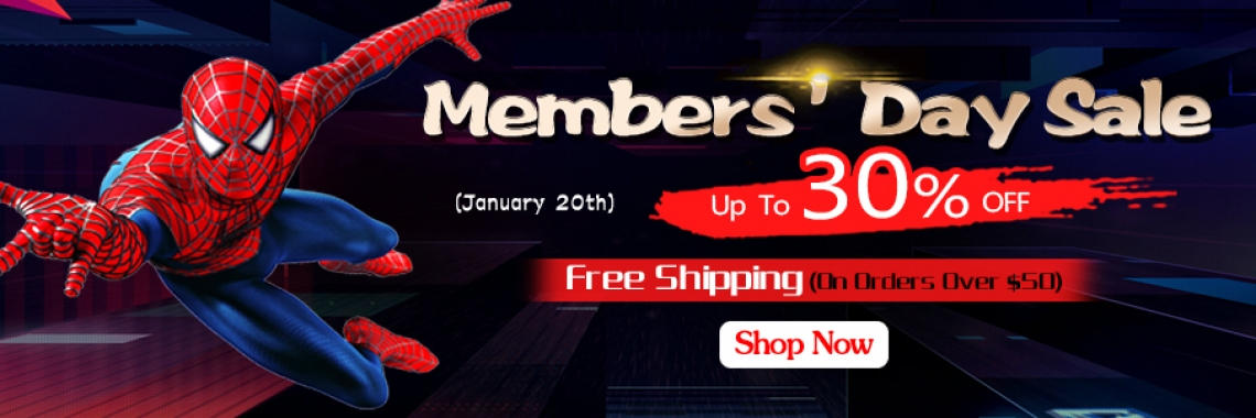 2020 January Members' Day Sale
