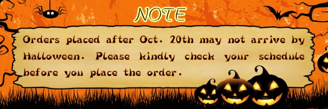 2021 Halloween Notice