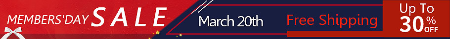 March Members' Day Sale
