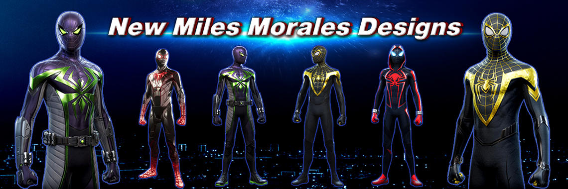 New Miles Morales Costumes