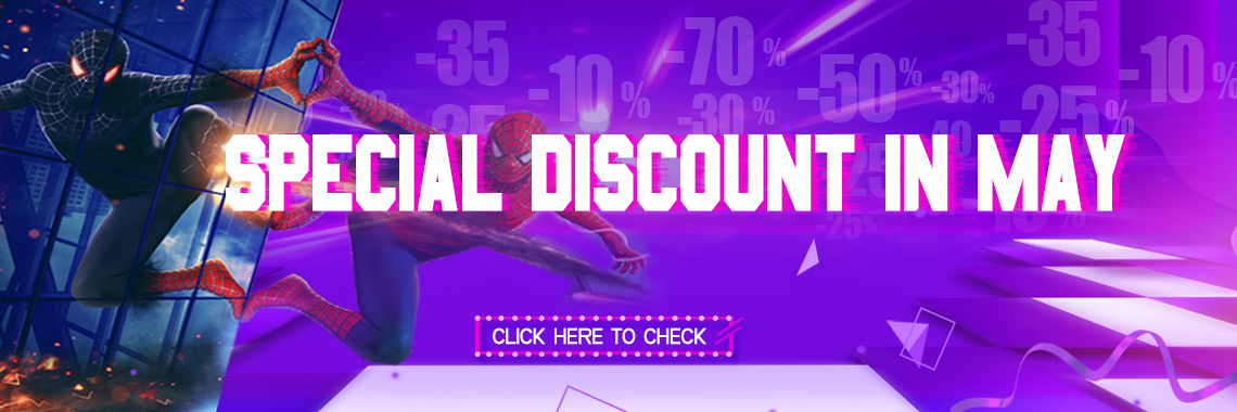 discount in May