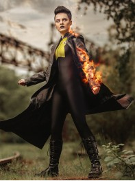 Deadpool 2 Negasonic Teenage Warhead V1 Spandex Superhero Costume