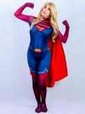 Supergirl Costume Man Of Steel Super Girl Cosplay Suit