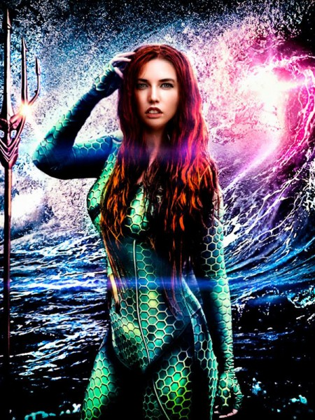 Mera Aquaman 3D Printing Girl Superhero Costume