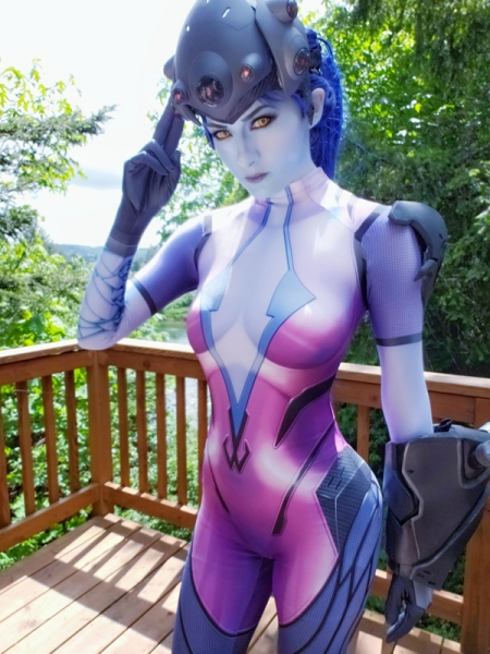 2018 Newest Widowmaker Costume Video Game Overwatch Girl Cosplay Costume