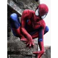 Newest Classic Spider-man costume 3D Printing Superhero Costume