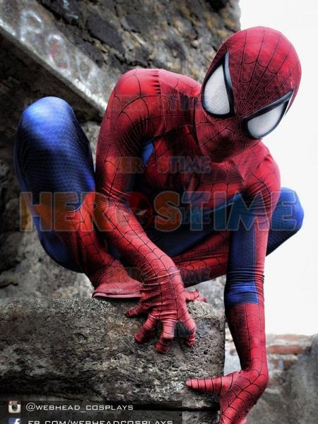 El último Traje  clásico de Spiderman Traje de superhéroe de impresión en 3D