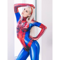 MJ Jamie Spider Costume Mary Jane Girl Cosplay Suit Adult & Kid Size