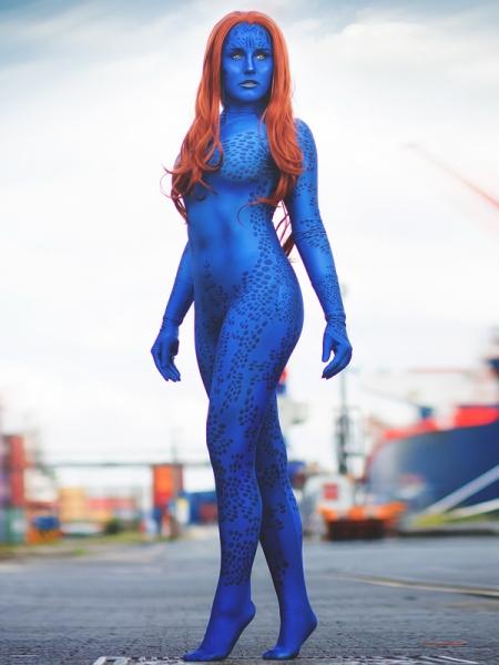 Traje de Mystique de la película X-men  Impresión 3D
