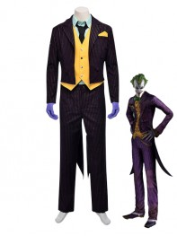 Batman Arkham City Joker Cosplay Costume