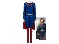 Disfraz de Supergirl Supergirl Temporada 5 Kara Zor-El Superhero Cosplay Set completo