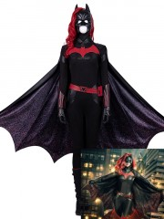 Batwoman Costume Kate Kane Superhero Cosplay Full Set