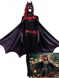Batwoman Costume Kate Kane Superhero Cosplay Full Set