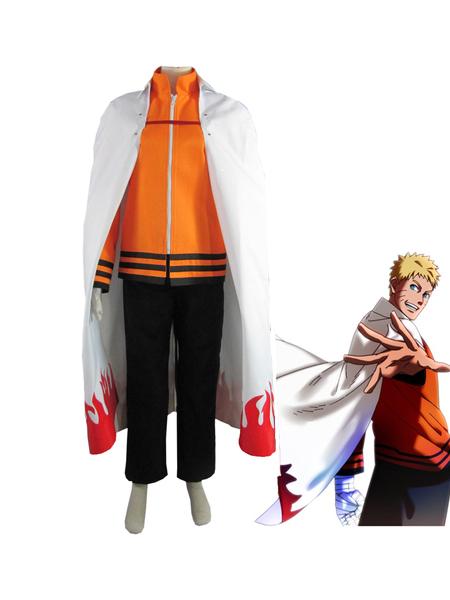 Naruto The movie The last-Uzumaki Naruto Seventh Hokage Anime Cosplay Costume