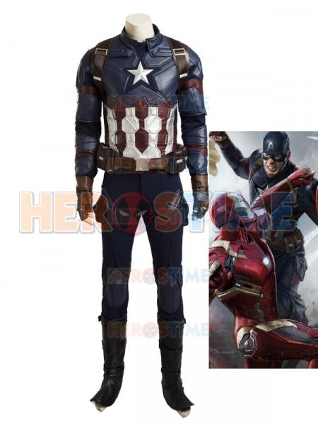 2016 Último Traje de Capitán América de Captain America Civil War