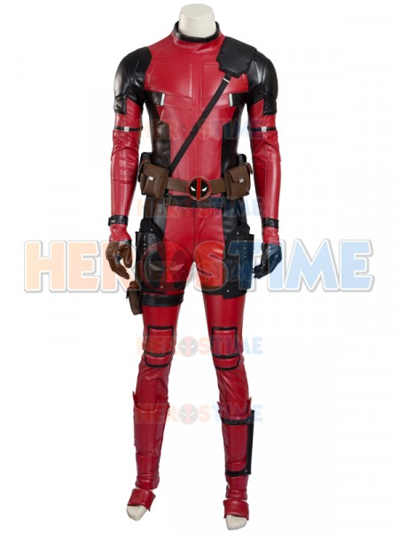 2017 Deluxe Deadpool Superhero Cosplay Costume