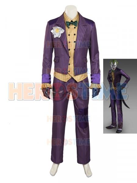 Batman Arkham City Supervillain Joker Cosplay Costume