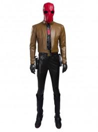 Batman Series Red Hood Jason Todd Cosplay Costume Full Set
