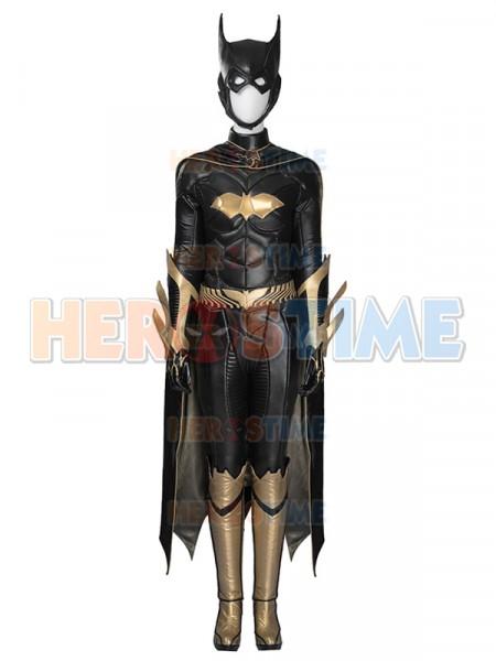 Disfraz de lujo de las muchachas del super héroe Cosplay Batman: Arkham Knight Batgirl