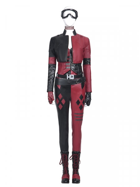 The Suicide Squad Harley Quinn Cosplay Costume