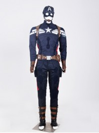 Captain America: The Winter Soldier Captain America Superhero Cosplay Costume