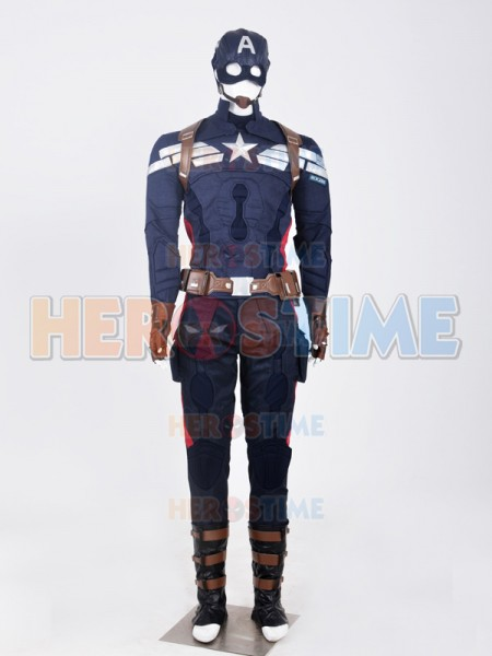 Captain America: The Winter Soldier Traje de superhéroe Capitán América