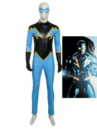 DC Comics Black Lightning Superhero Cosplay Costume