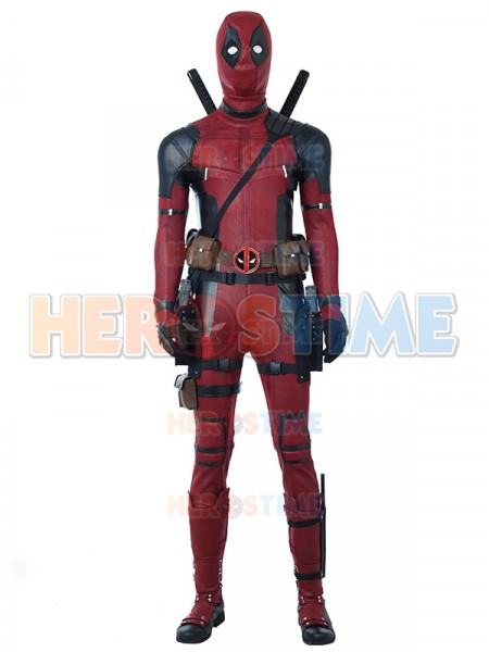 2018 Deadpool 2 Último Traje Lujoso de Deadpool Cosplay