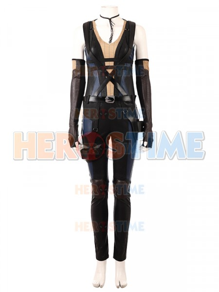 Deadpool 2018 Deadpool 2 Domino High-end Cosplay Costume