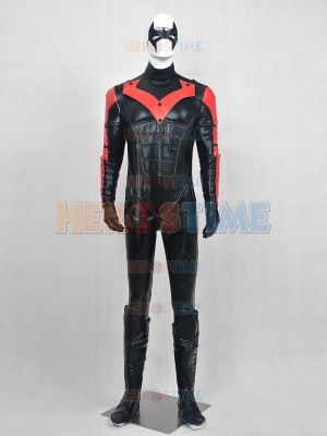Deluxe Nightwing Red Robin Superhero Cosplay Costume