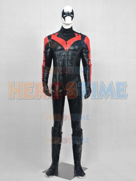 Traje Lujoso de Nightwing Red Robin Cosplay